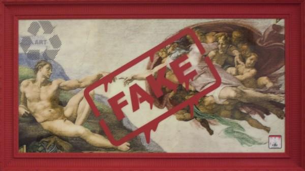 FAKE Creation of Adam