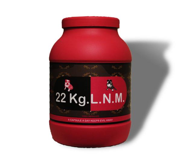 22 kg. L.N.M. (magenta)