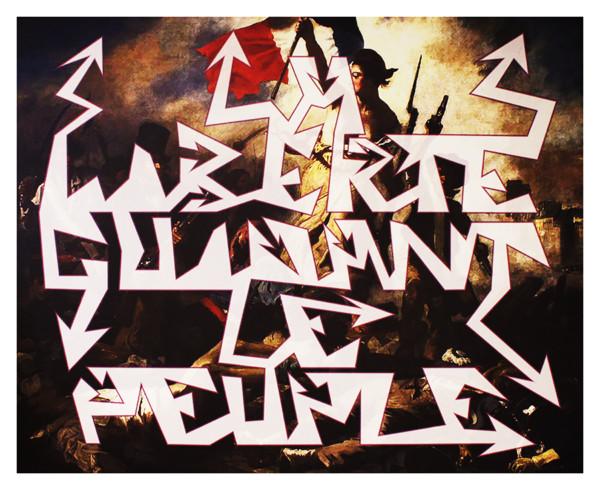 "Fake Art ""La Libertè guidant le peuple"""
