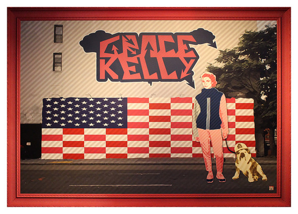 """No one Ever Really Dies"" Hype Grace Kelly at Houston Bowery mural"